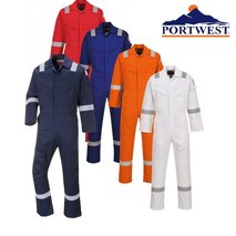 FLAME RESISTANT ANTI-STATIC COVERALL 350G - FR50