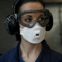 Filter half masks (respirators)