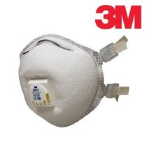 3M™ 9925 speciality filtering half mask (respirator) with additional protection against welding fumes, organic compounds and ozone (with exhalation valve) FFP2