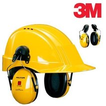 3M™ PELTOR™ OPTIME™ I earmuffs with helmet attachments (H510P3E-405-GU)