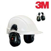 3M™ PELTOR™ OPTIME™ II earmuffs with helmet attachments (H520P3E-410-GQ)